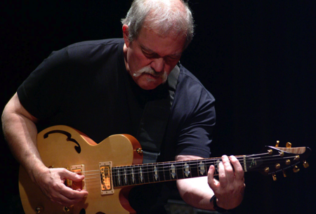 JOHN ABERCROMBIE PLAYING HIS BRIAN MOORE SIGNATURE MODEL