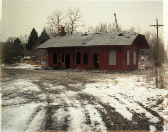 Hopewell Depot before Restoration