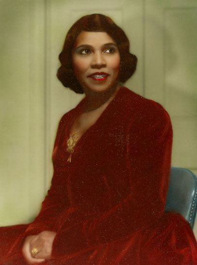 Marian Anderson (1940's)  - Photo: Edwin Bruce Anderson