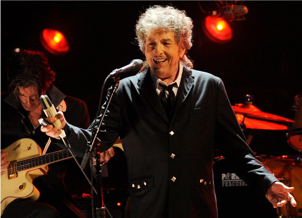 Bob Dylan performing in Los Angeles in 2012 -      Chris Pizzello/Associated Press