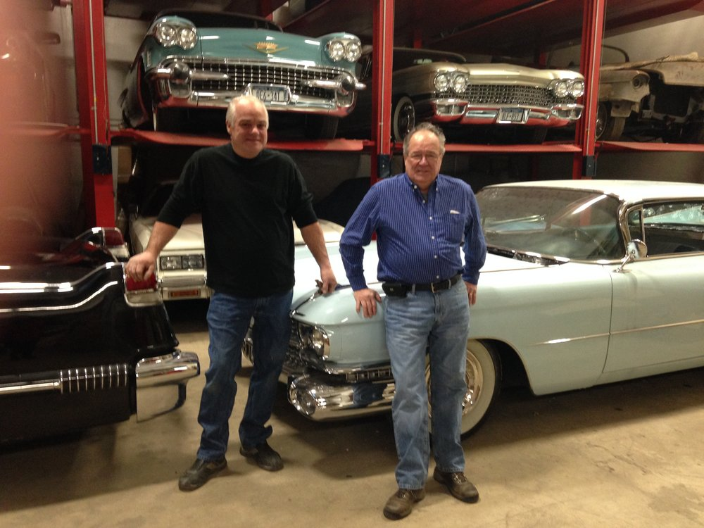 Cadillac Restoration - By Ron Rosendale