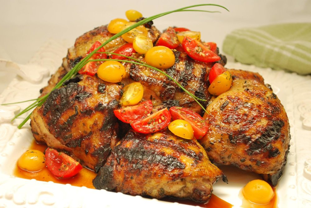 Italian Style Summer Grilled Chicken