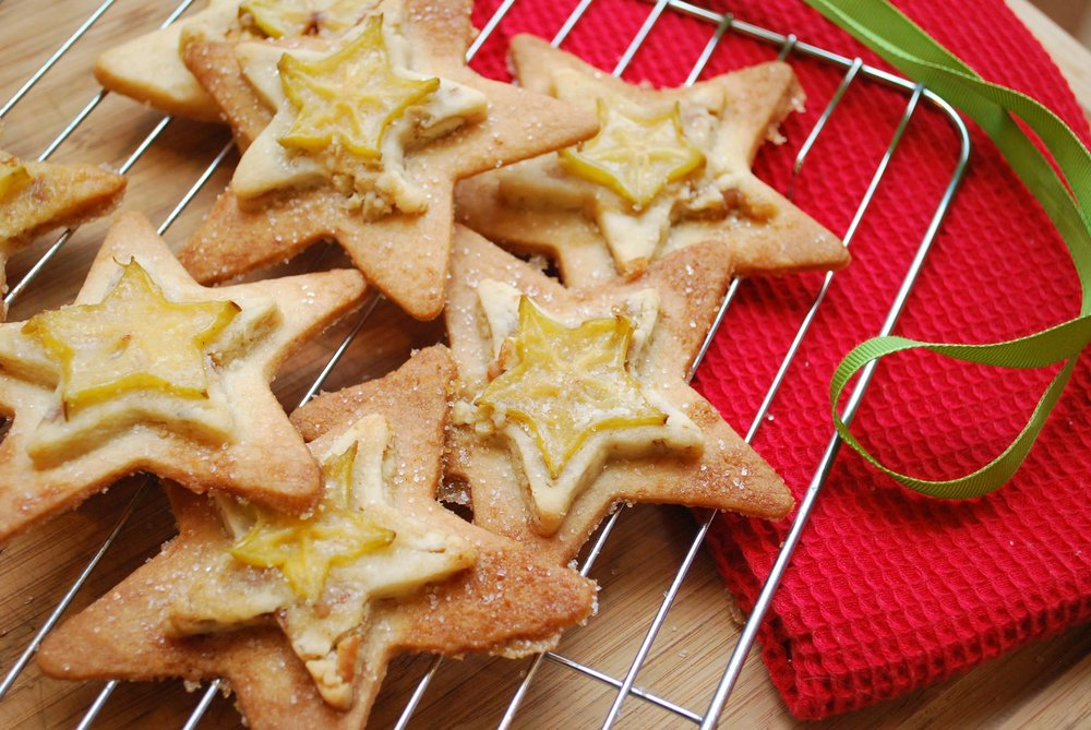 Holiday Star Fruit Cookie - By Isabel Minunni