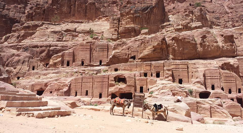 Petra Commoners Tombs    (Photos by Ann Jamieson)