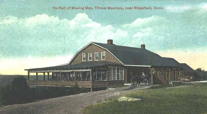 Ye Port of missing men, titicus mountains near Ridgefield, CT