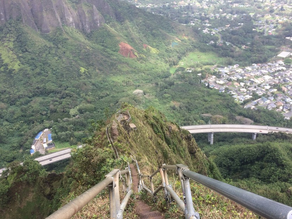 Stairway to Haven: Climbing the Infamous Haiku Stairs of Oahu