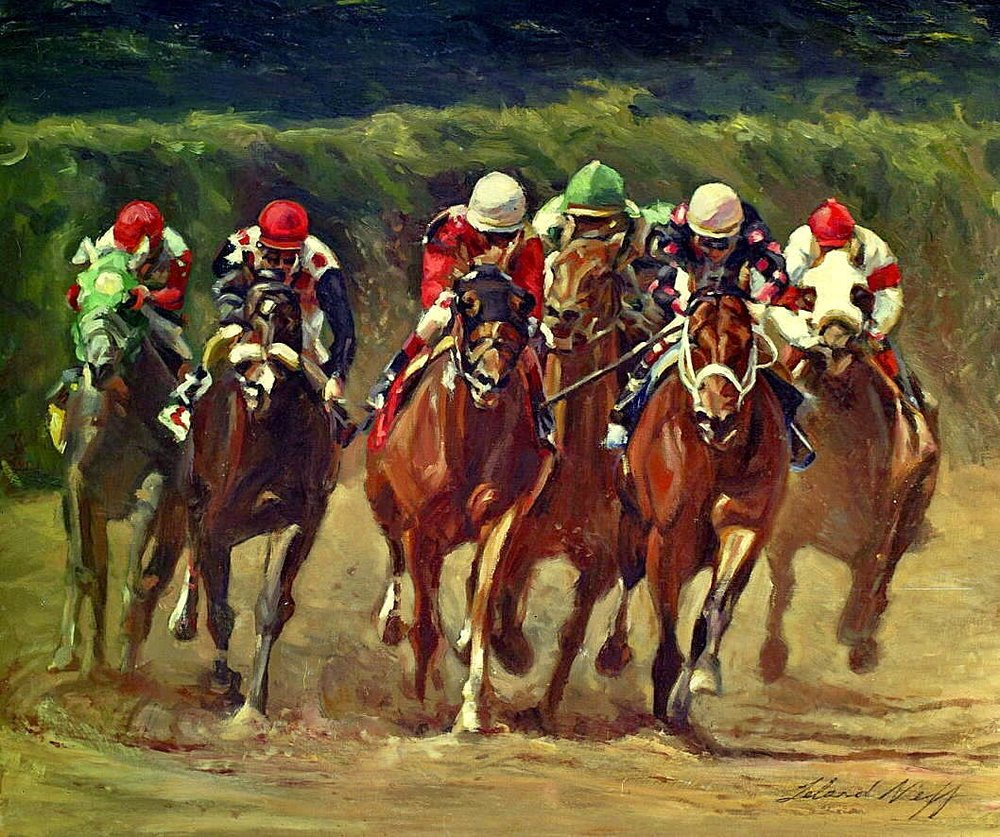 Charlotte Weber's Belmont Stakes