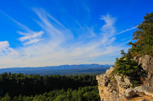 View from Mohonk Mountain