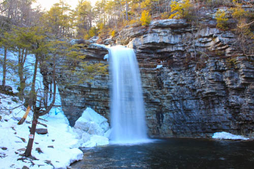 Minnewaska Waterfall
