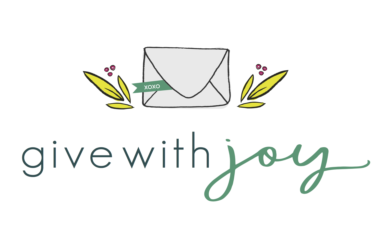 give with joy