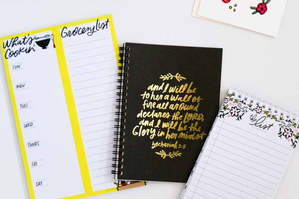 Beautiful Notepads + Journals | Shop  here