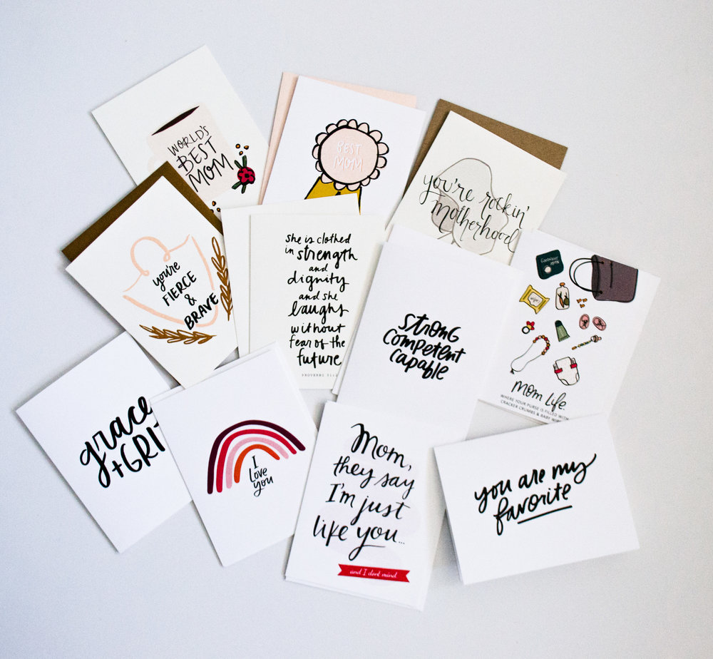 You Pick Four Cards for $16 | Shop  Here