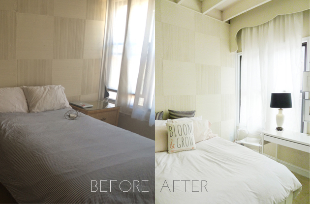 before and after interior | champagne takeout