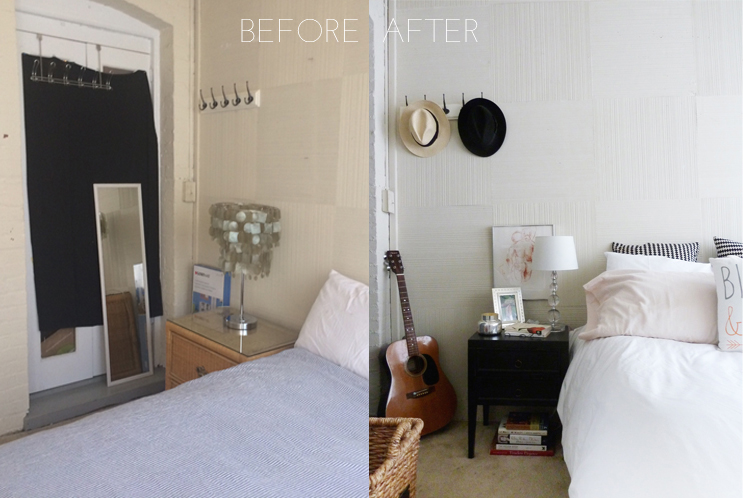 interior transformation | champagne takeout