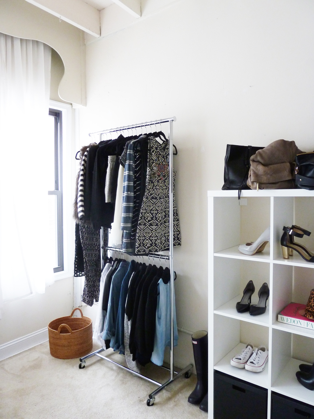 clothing storage | champagne takeout
