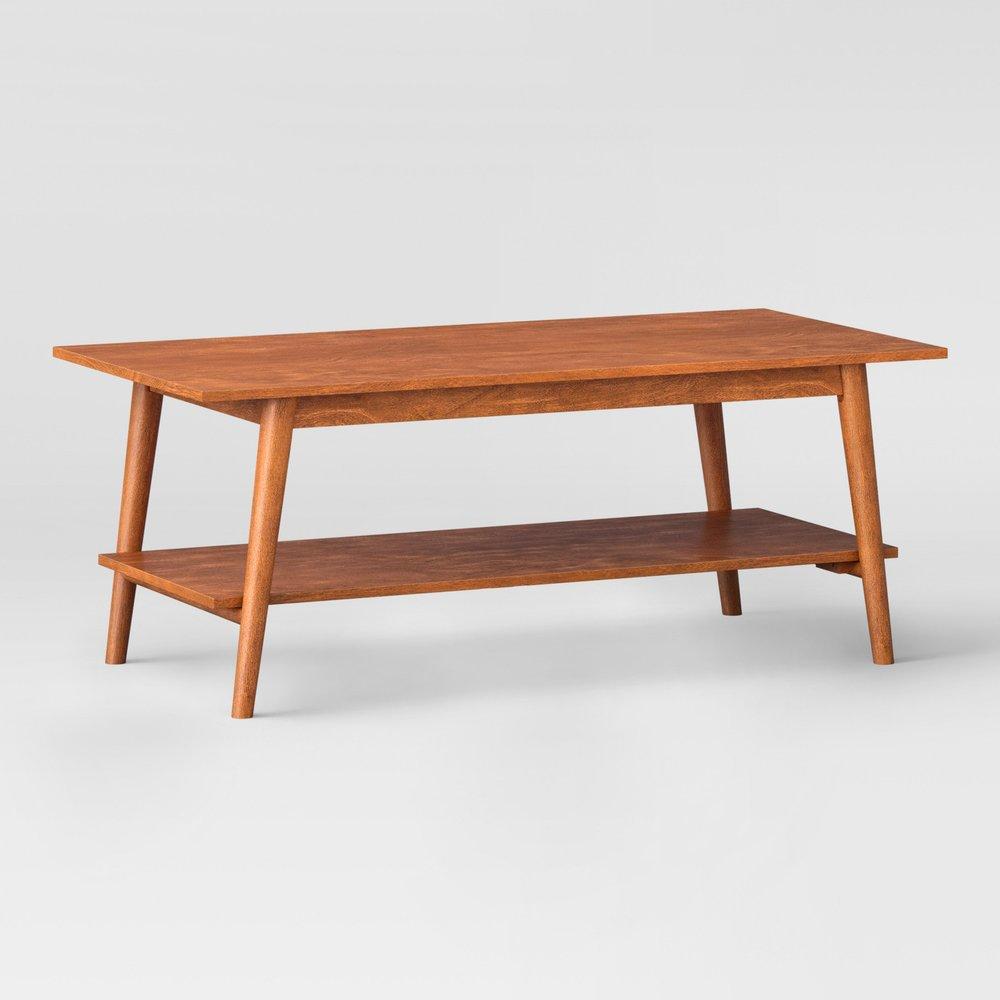 Amherst Mid Century Modern Coffee Table