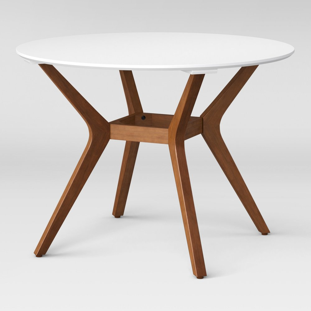 "Emmond Mid Century 42"" Round Dining Table"