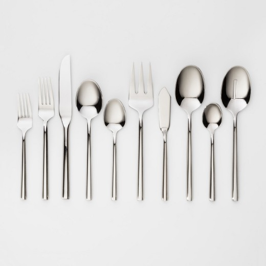 Izon Mirror Silverware Set