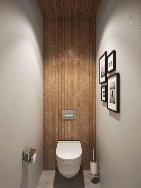 minimalist powder room | elizamcnabb.com