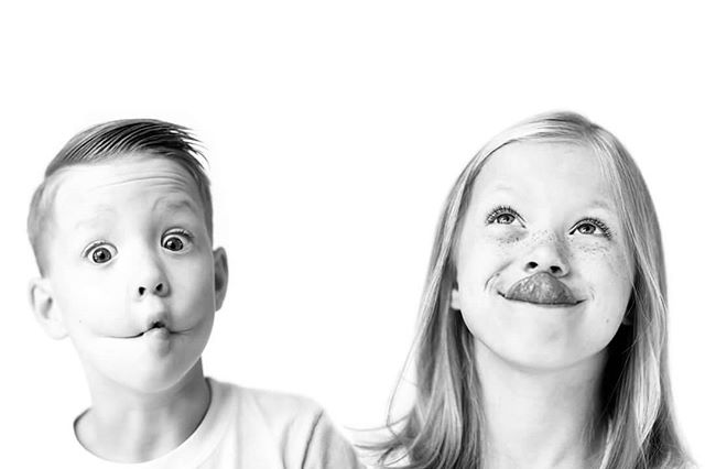 I'm a bad mom and have no portraits of my kids on the wall... even worse being a photographer. So this will be arriving soon in a 32x48 very large canvas! My two silly loves. #camilledavisphotography #blackandwhite #naturallight #kidsofinstagram #canon