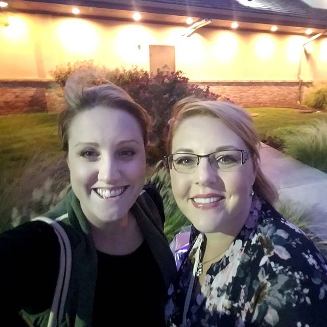 Going to miss this sweet girl! My sweet joy is moving onto bigger and better things. Had a nice dinner. Love you @peacockybeauty! Can't wait to see what dallas offers you!