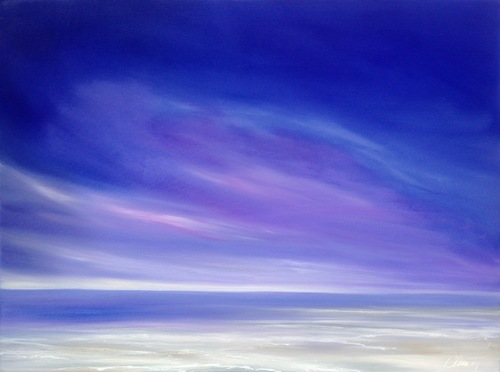 """""""Days End""""  oil on canvas 36""""x 36"""""""