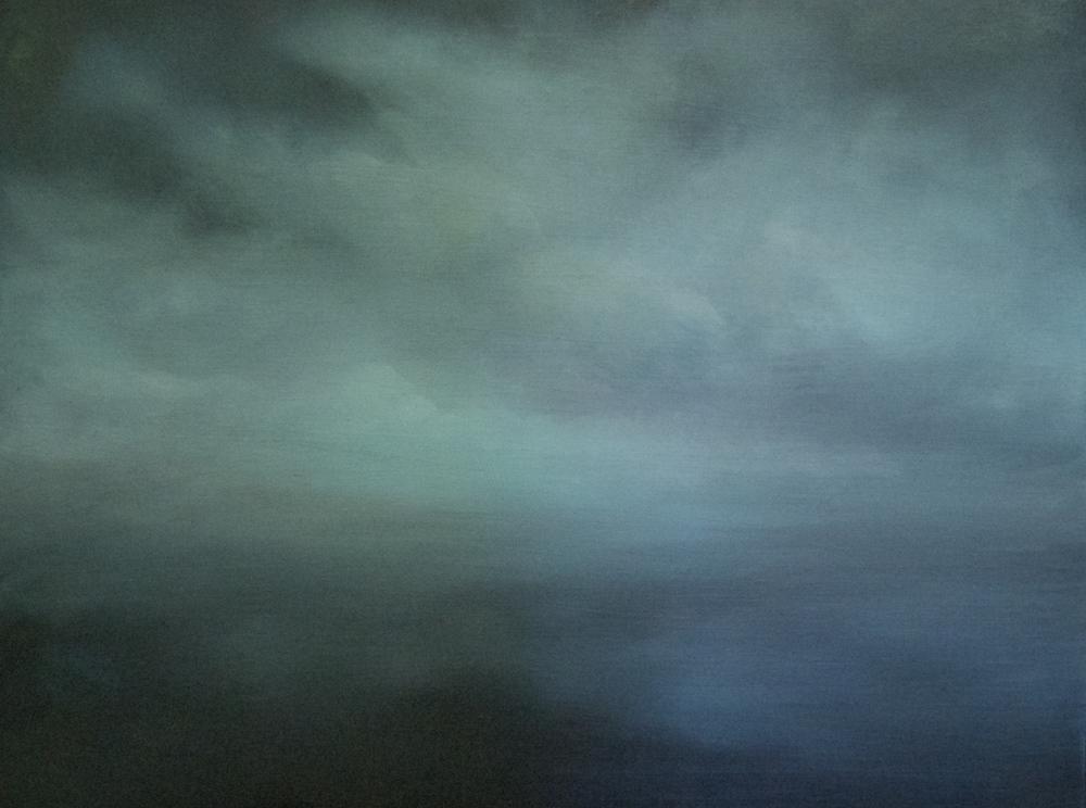 """Foggy Cloud""  18""x24"""