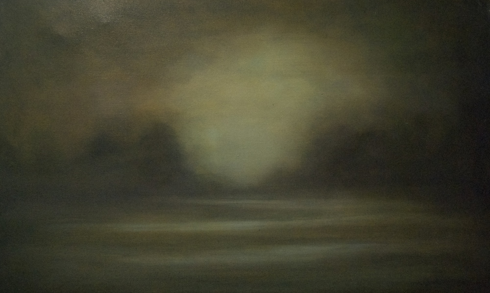 """The Break of Dawn"" oil on canvas 26""x42"""