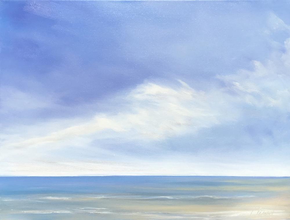 """""""Peace 11""""  30""""x24""""oil on canvas"""