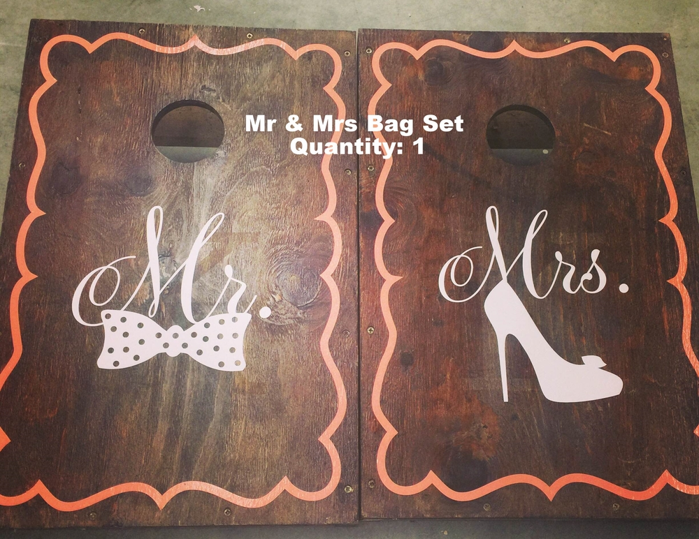 Mr & Mrs Bags Set