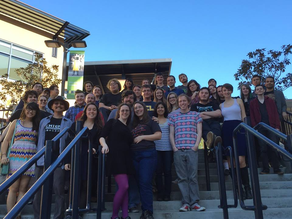 Meetup with the UCI chapter at the UCI campus