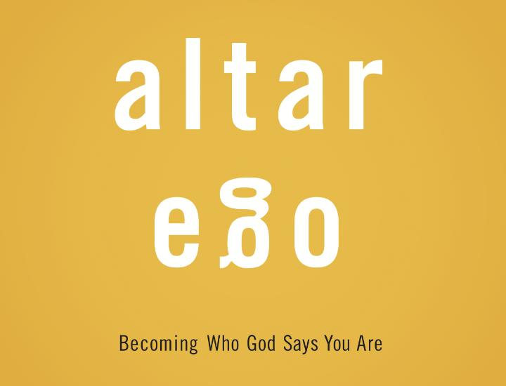 We are not our labels. We are not who others say we are. And we aren't the broken self-image we see in the mirror. So how can we get to our true identity? By laying down who we think we are to become who God says we are. Let's discover our Altar Ego.