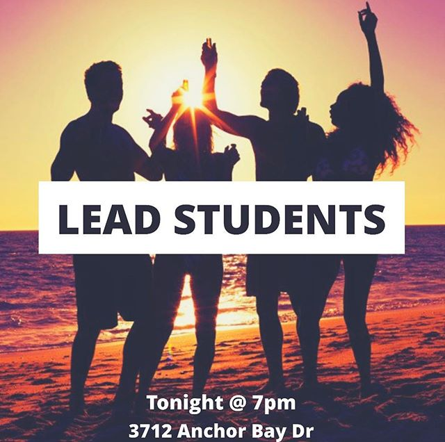 WE'RE BACK AT IT AGAIN, YALL!  Come on out to 3712 Anchor Bay Dr tonight!! It's gonna be awesome!! (also rumor has it, Pastor Kyle's message tonight involves water and a pool, soooo you're gonna want to get here!!!)