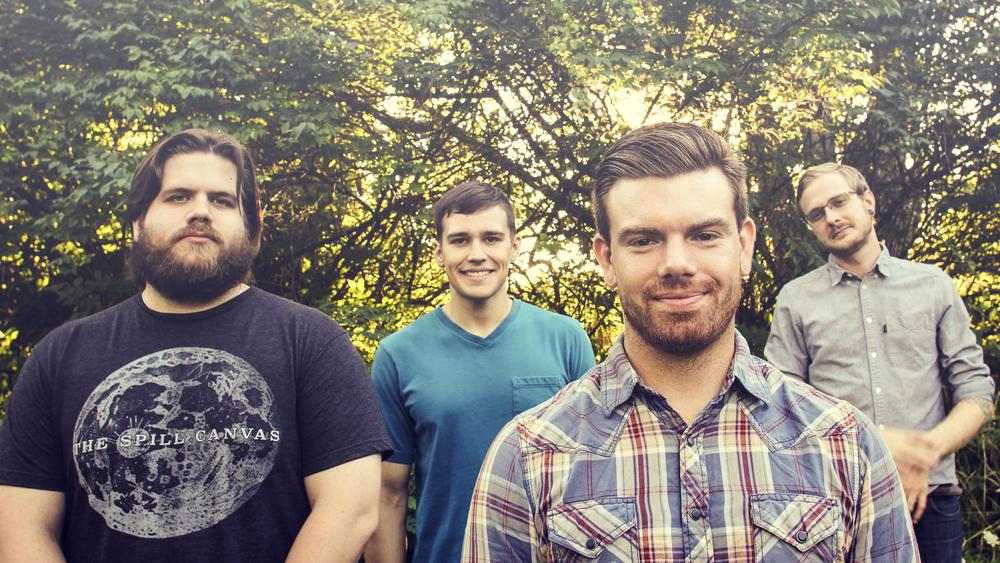Current Events, Left to Right: Robbie Adams (guitar), Kevin Bole (bass/vocals), Jacob Aufdenkamp (vocals/guitar), Kyle Wavra (drums)
