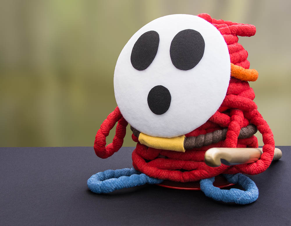 Giant Yarn Shy Guy