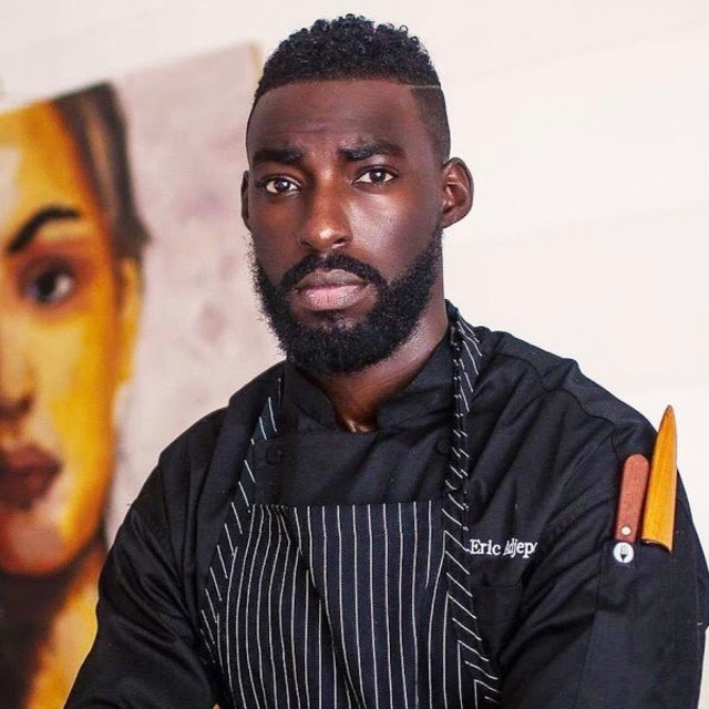 Chef Eric Adjepong - Chef and Owner | Pinch and Plate | Dine Diaspora Featured Chef