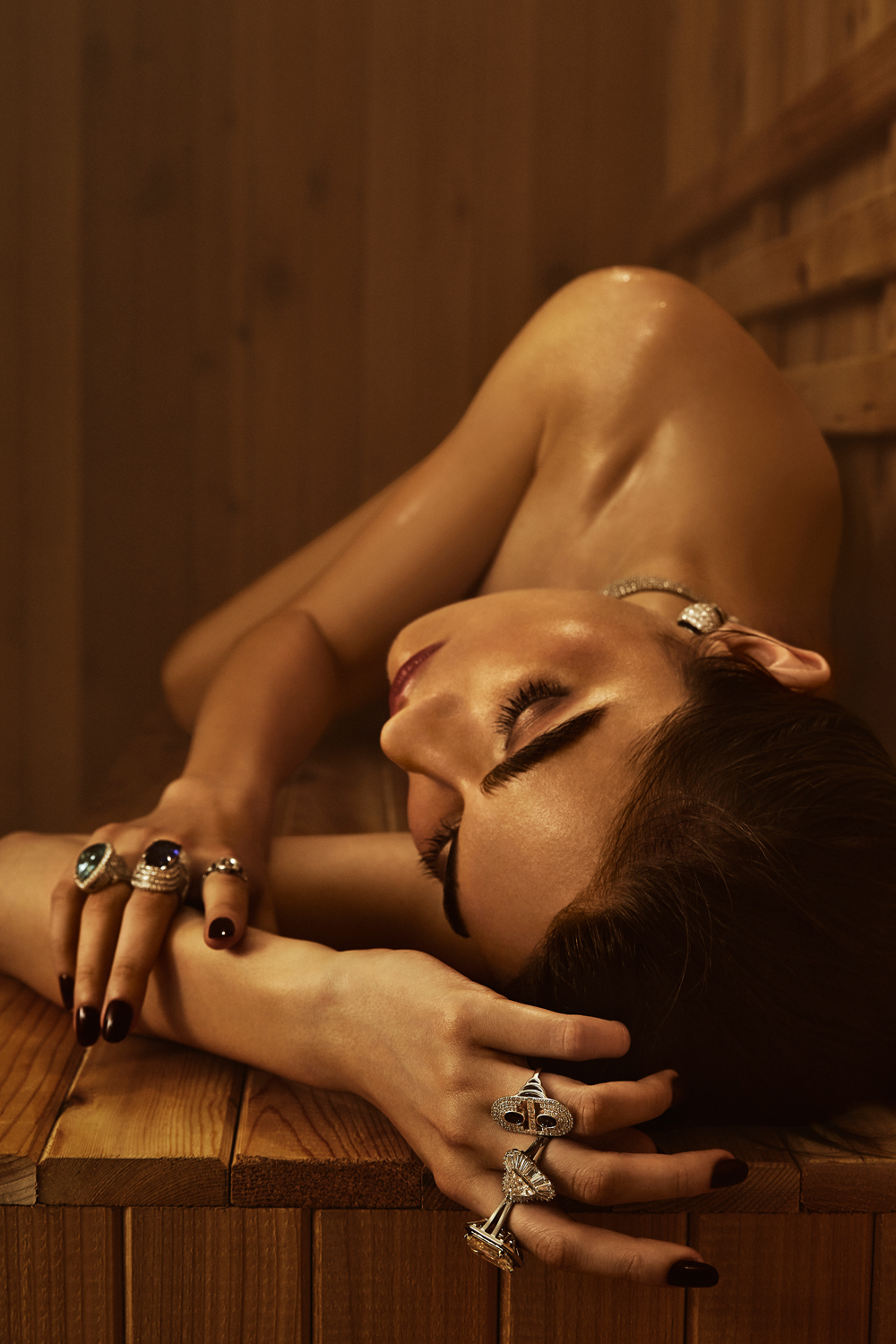 THE IMPRESSION MAGAZINE: SAUNA