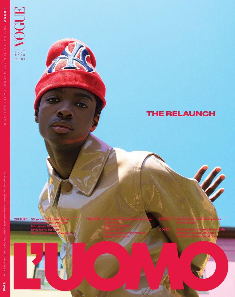L'uomo Vogue July '2018'