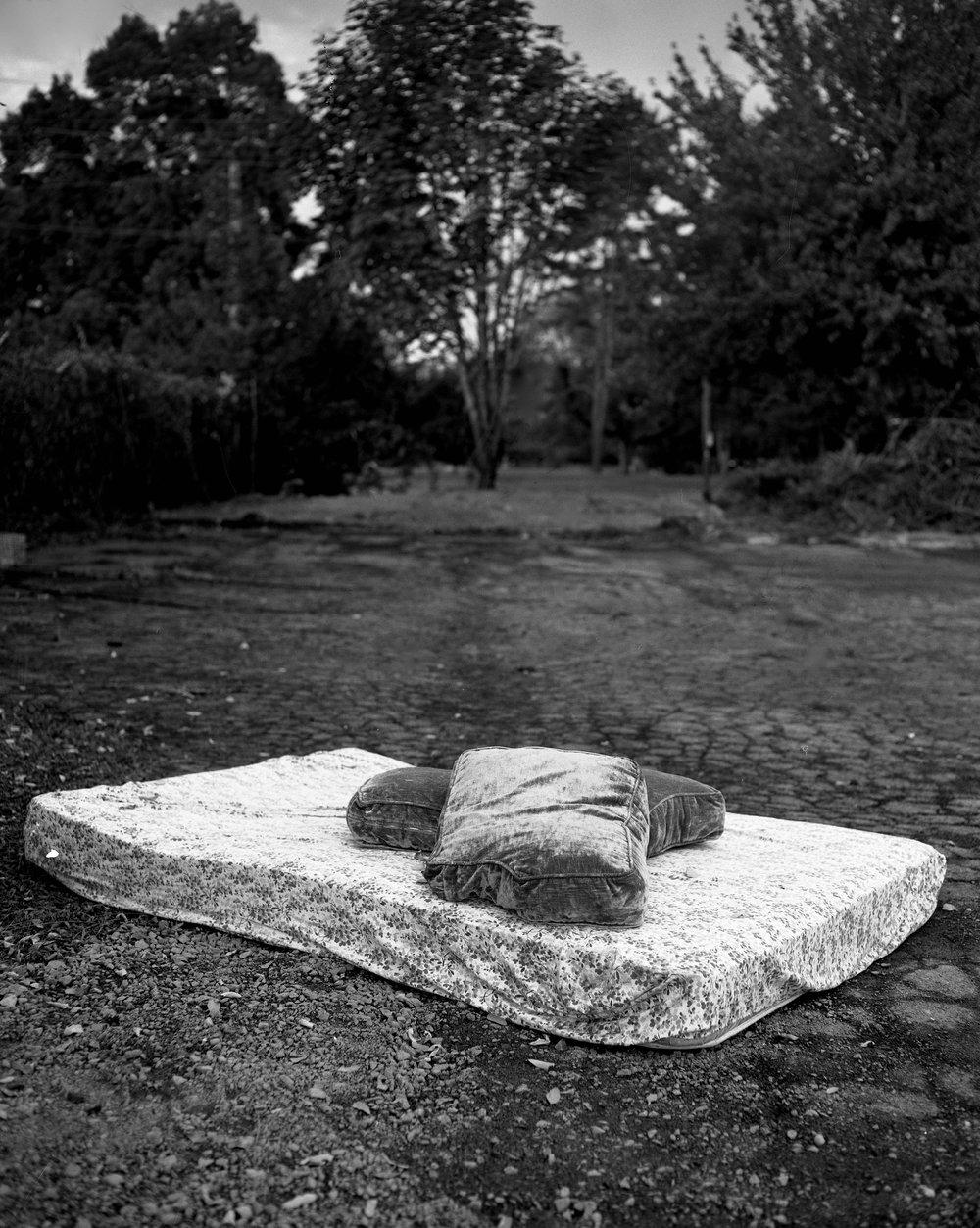 Abandoned mattress, Oregon