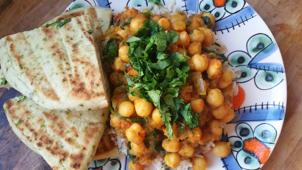 Divine Chickpea Curry