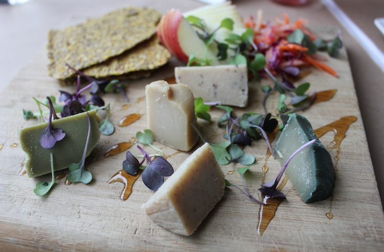 Vegan Cheese Plate