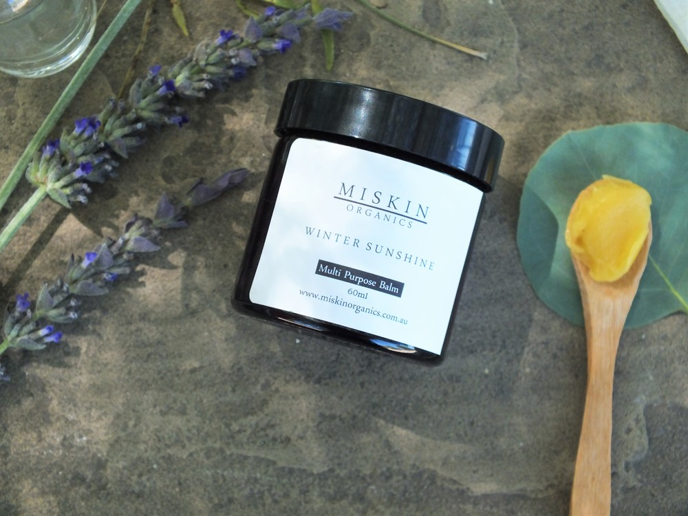 The Vibrant Home- Miskin Organics Winter Sunshine Balm