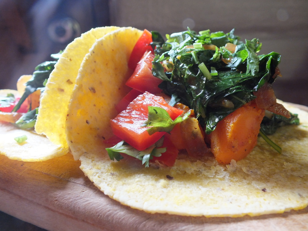Vegan Tacos- The Vibrant Kitchen & Home