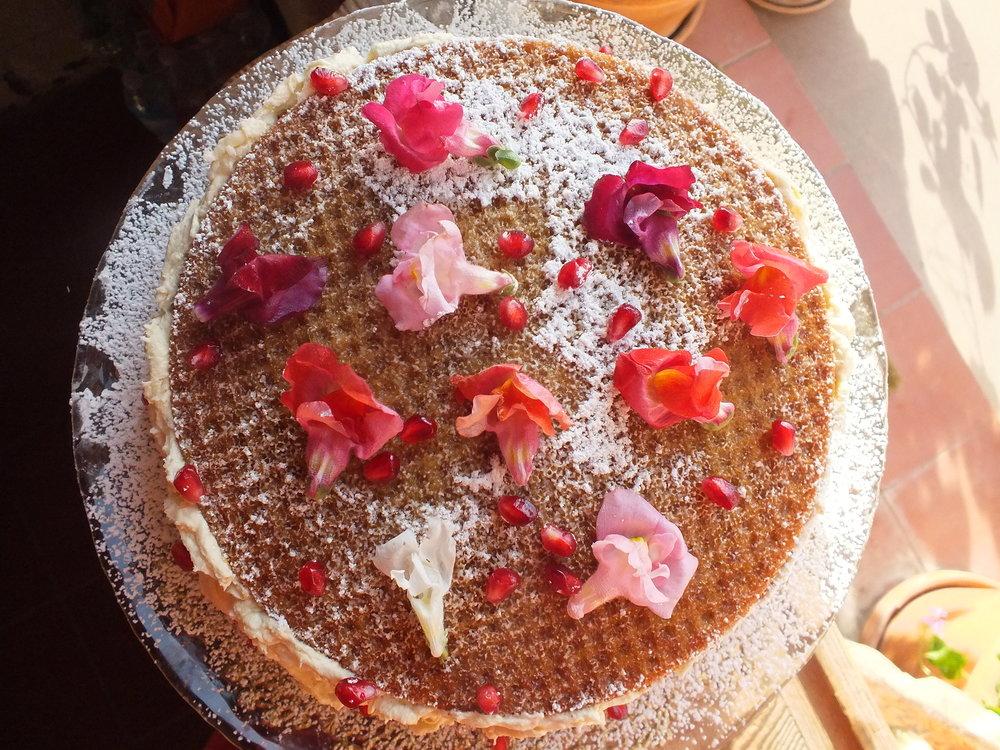 Butternut Squash + Mandarin Cake