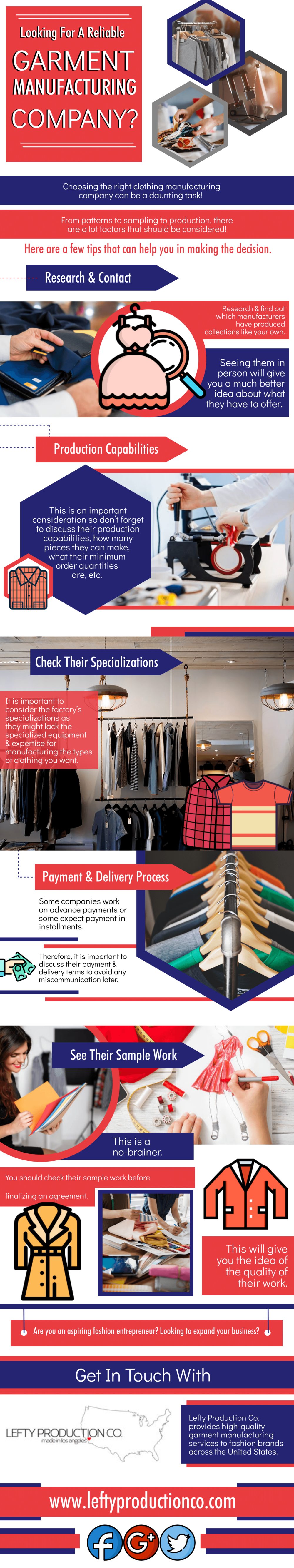 Looking For A Reliable Garment Manufacturing Company
