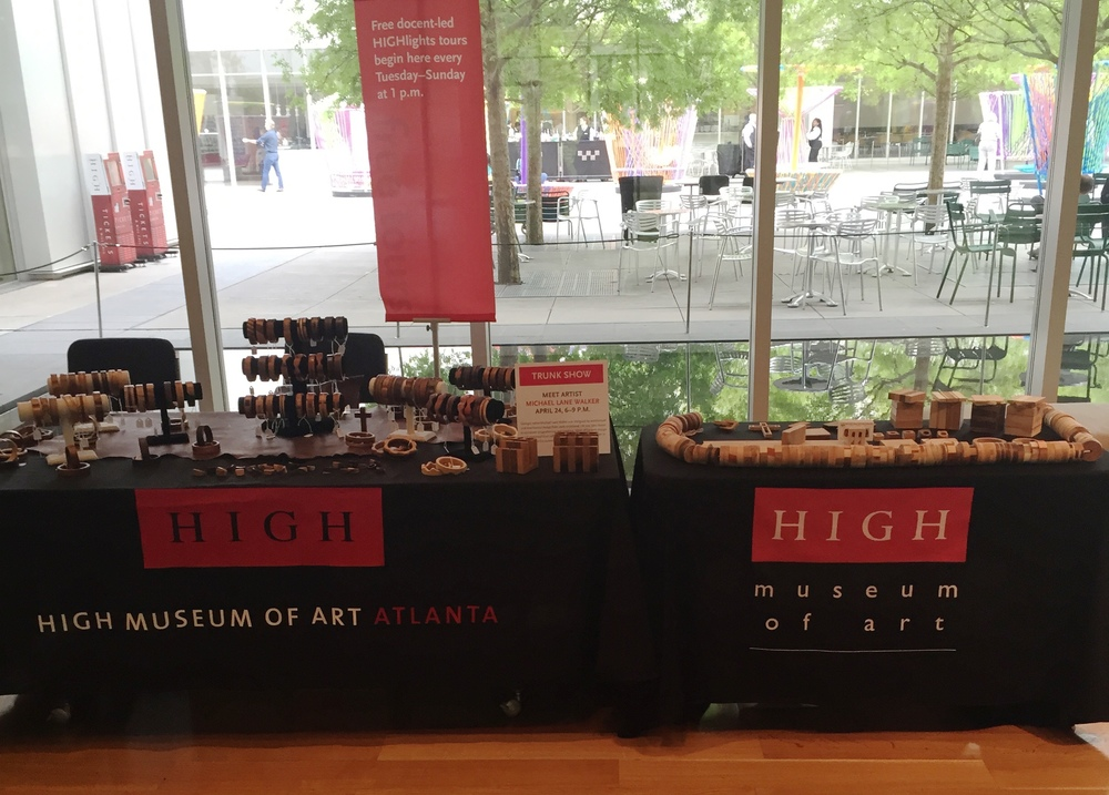 Featured Artist - Artist Market Trunk Show -    The High Museum of Art , Atlanta, GA. April 2015