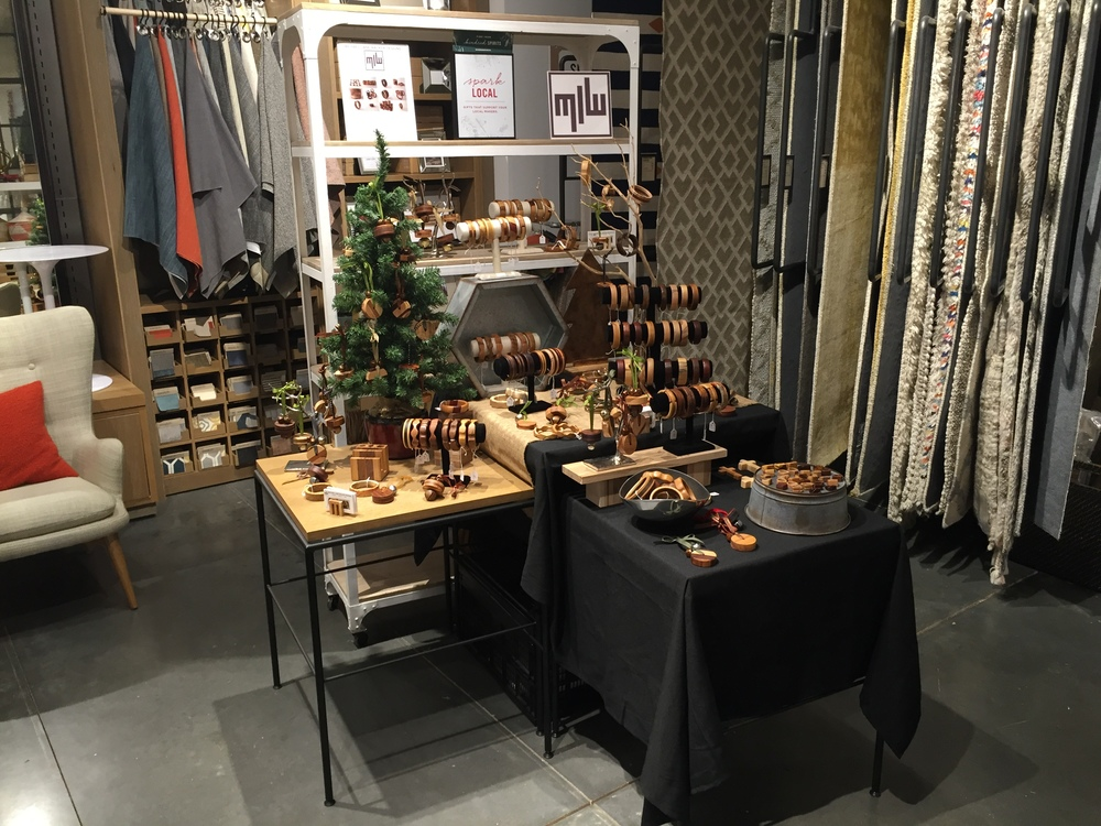 Featured Artist -   23 Days of Gifts   Local Artist Pop-Up -     West Elm    at    Avalon  , Alpharetta, GA. December 2015