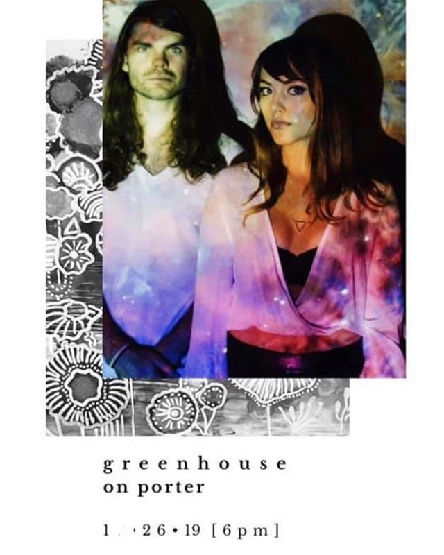 Looking forward to this show at @greenhouseonporter — We will come bearing new songs and sounds! ✨  #dellamemoria #originalmusic #indie #indiemusic #newmusic #songwriter #singersongwriter #synthpop #femalesinger #electric #electricguitar #bass #music