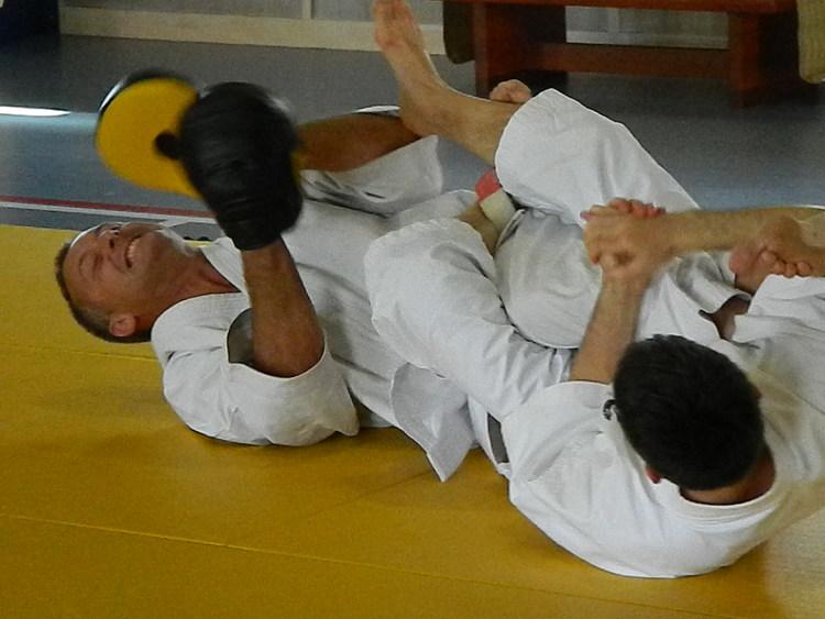 Kurt teaching jujutsu focus mitts.jpg