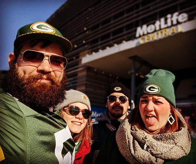 GO😛 PACK 😛 GO #overtime #packernation #gopackgo #metlifestadium #roadwin